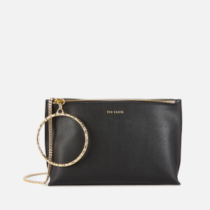 Ted Baker Women's Ingaah Textured Ring Bracelet Clutch - Black