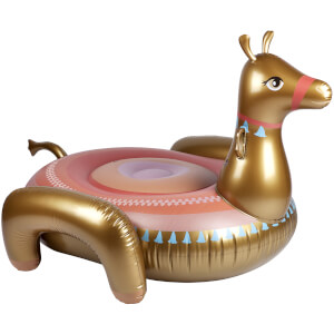 Sunnylife Luxe Ride-On Float - Camel