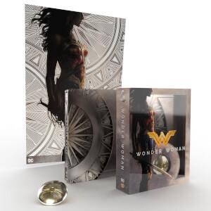 Steelbook Wonder Woman 4K Ultra HD & Blu-ray – Titans of Cult Édition Limitée
