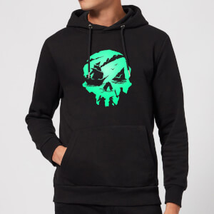Sea Of Thieves 2nd Anniversary Skull Hoodie - Black