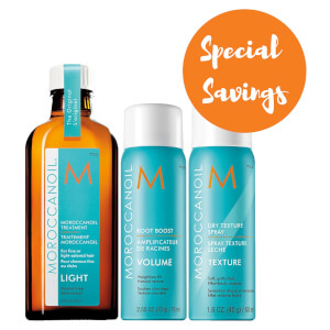 Moroccanoil Volume Collection with Wash Bag (Worth £49.65)