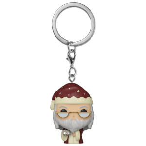 Harry Potter Holiday Albus Dumbledore Funko Pop! Keychain
