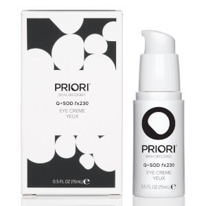 PRIORI Skincare Q+SOD fx230 Eye Crème 15ml
