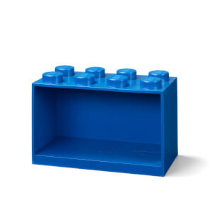 LEGO Storage Brick Shelf 8 - Blue