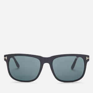 Tom Ford Men's Stephenson Sunglasses - Matte Black/Green