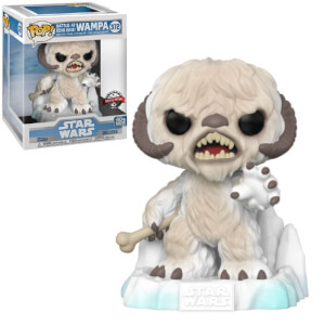 Figurine Pop! Deluxe Wampa EXC - Star Wars: L'Empire Contre-attaque