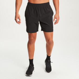 Essential Lightweight Woven Training Shorts - Sort