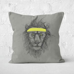 Hipster Lion Cushion Square Cushion
