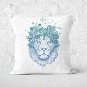 Floral Lion Cushion Square Cushion