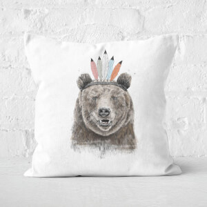 Festival Bear Cushion Square Cushion