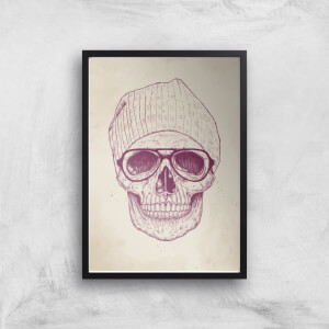 Cool Skull Print Giclee Art Print