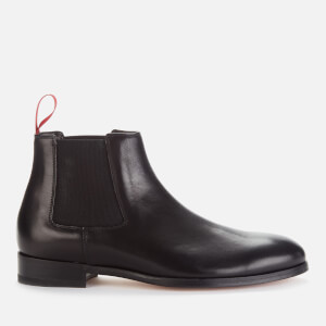 Paul Smith Men's Crown Leather Chelsea Boots - Black