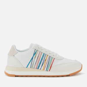 Paul Smith Women's Artemis Running Style Trainers - White Embroidery