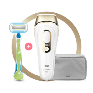 Silk-expert Pro 5 IPL with Razor and Pouch