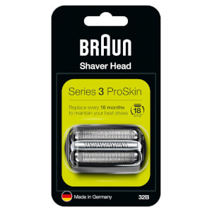 Series 3 32B Electric Shaver Head Replacement - Black