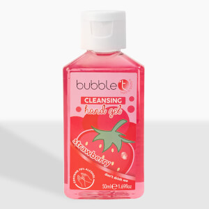 Bubble T Hand Cleansing Gel - Strawberry 50ml