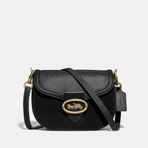 Coach Women's Kat Saddle Bag - Black