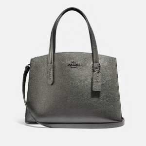 Coach Women's Charlie 28 Carryall Bag - Metallic Graphite