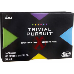 Hasbro Trivial Pursuit X Game - Adults Only