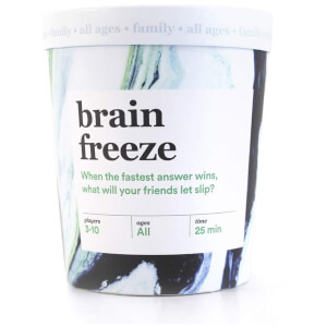 Brain Freeze Card Game
