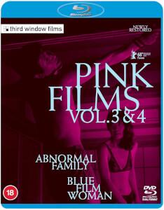 Pink Films Vol. 3 & 4 – Abnormal Family / Blue Film Woman (Dual Format)