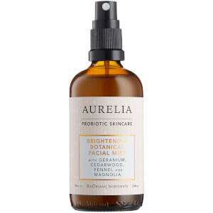 Aurelia Probiotic Skincare Brightening Botanical Facial Mist 2.4 oz