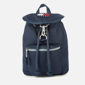 Tommy Jeans Women's Heritage Small Flap Backpack - Twilight Navy