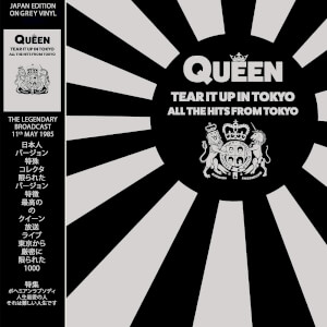 Queen - Tear It Up In Tokyo Limited Edition Grey LP