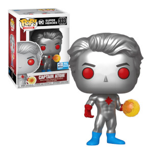 DC Comics Captain Atom Wondercon EXC Funko Pop! Vinyl