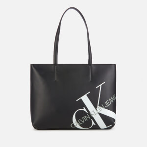 Calvin Klein Jeans Women's Logo Shopper - Black
