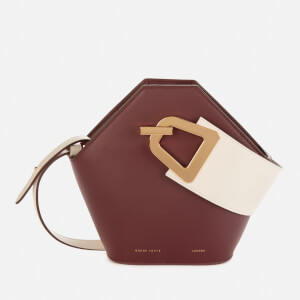 Danse Lente Women's Mini Johnny Bag - Dark Sienna/Milk