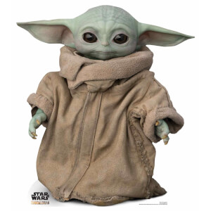 The Mandalorian - The Child Baby Yoda Mini Cardboard Cut Out
