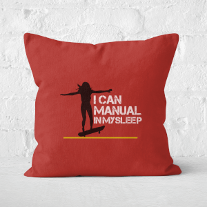I Can Manual In My Sleep Square Cushion