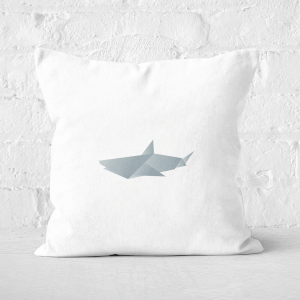 Origami Shark Square Cushion