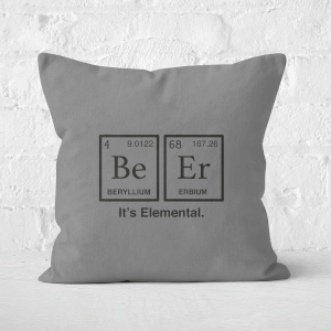 Be Er It's Elemental Square Cushion
