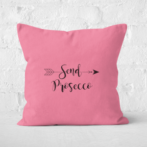 Send Prosecco Square Cushion