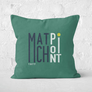 Match Point Square Cushion