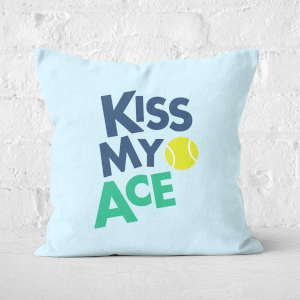 Kiss My Ace Square Cushion