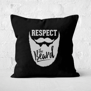 Respect The Beard Square Cushion