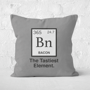 Bacon Element Square Cushion