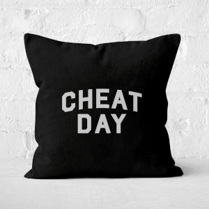 Cheat Day Square Cushion