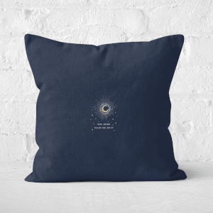 The Moon Made Me Do It Square Cushion
