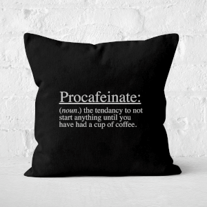 Procafeinate Square Cushion