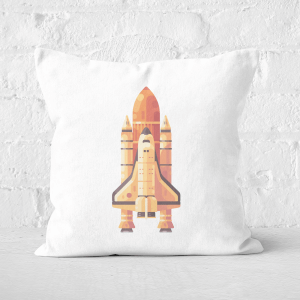Rocket Square Cushion