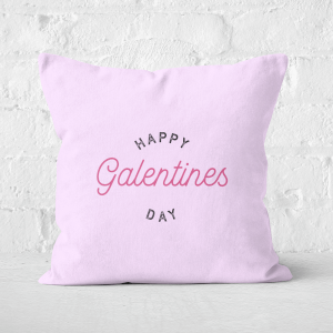 Happy Galentine's Day Square Cushion