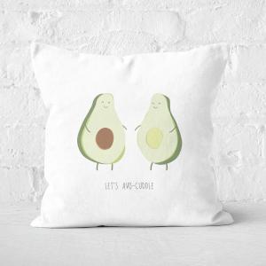 Let's Avo-Cuddle Square Cushion