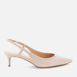 MICHAEL MICHAEL KORS Women's Nora Leather Sling Back Kitten Heels - Soft Pink