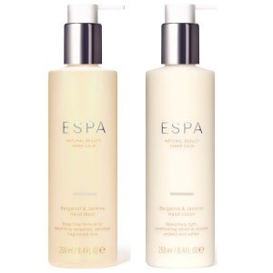 ESPA Bergamot and Jasmine Hand Care Duo (Worth £37.00)
