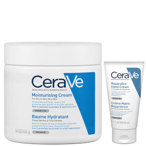 CeraVe Large Moisturising Cream Duo (Worth £20.50)