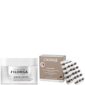 Caudalie Supplements and Filorga Exfoliator Duo